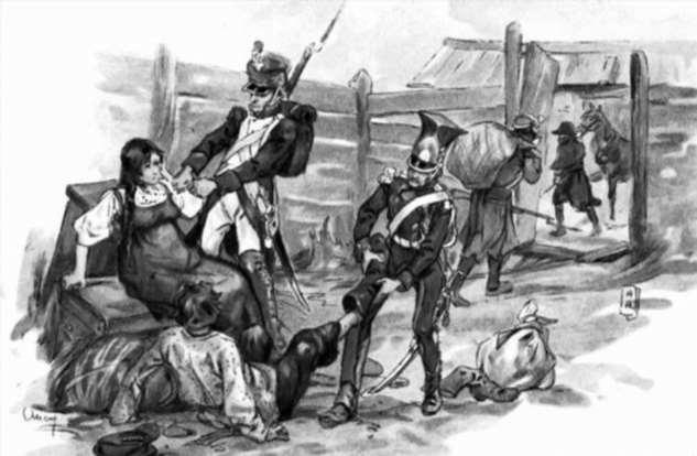 Краткая история мародёрства в эпоху наполеоновских войн Интересное