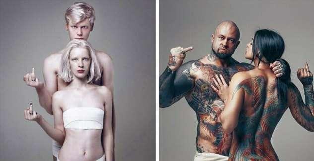 Международный фотопроект «Одетые в любовь»