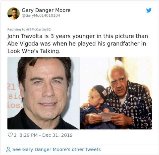 В прошлом люди старели быстрее лет26, сделано, лет30, фотографии, Когда, лет49, лет40летние19, лет15, лет29, лет31, годДжон, Траволта, мамочке, моложе, дедушки, справа24, года50, летДедушке, лет35, лет3637