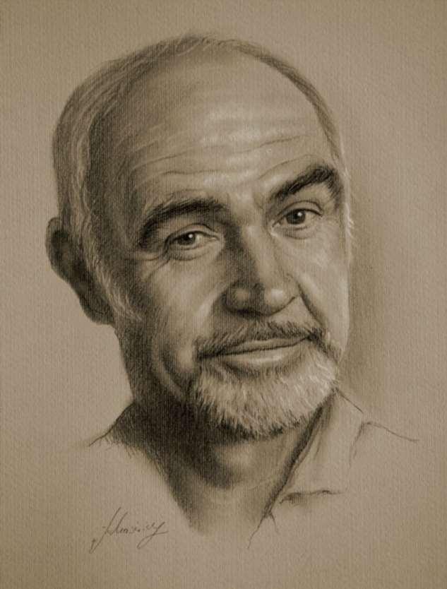 Рисунки простым карандашом Кшиштофа Лукашевича
