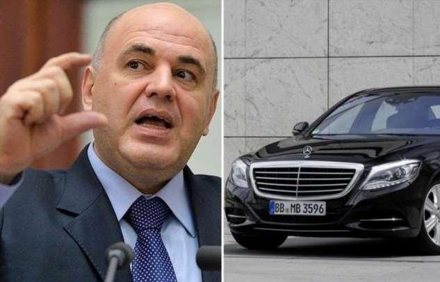 Какие автомобили есть в гараже нового премьер-министра России Михаила Мишустина авто