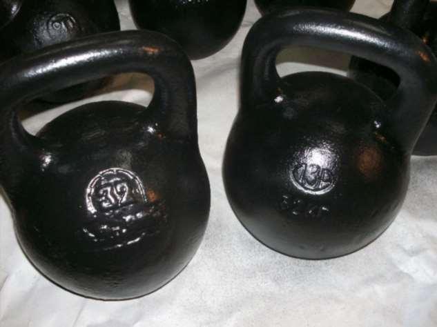 От 16 до 32 кг: почему гири для физических упражнений весят именно столько Интересное