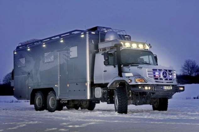 10 лучших экстремальных экспедиционных машин на планете