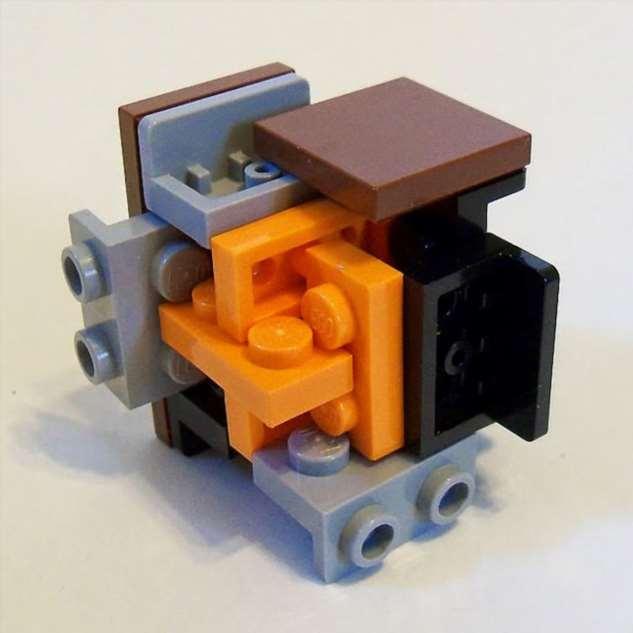 Это вообще законно?: Необычное соединение деталей Lego Интересное