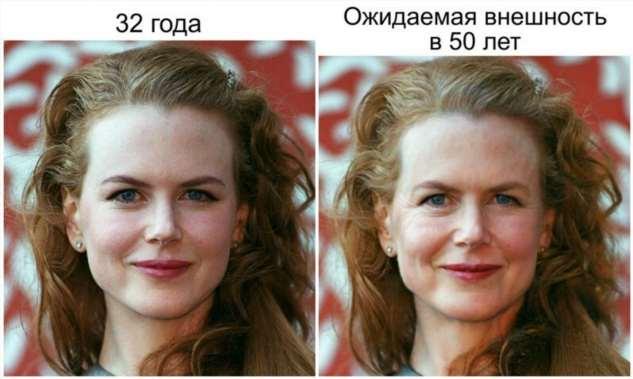 Пластический хирург показал, как бы выглядели 10 актрис, если бы старели как обычные женщины