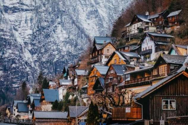 Сказочная австрийская деревня Гальштат