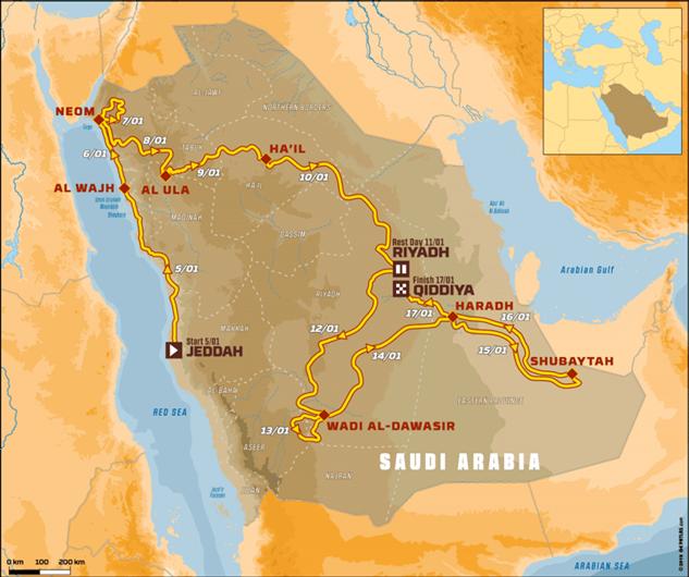 Дакар 2020: Из Америки в Азию — что ждёт спортсменов на новой локации?  Интересное