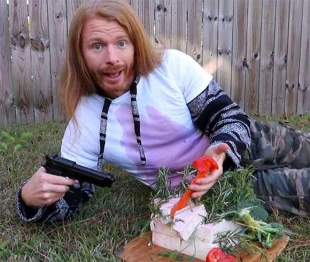 Забавные веганские охотничьи фотографии юмор