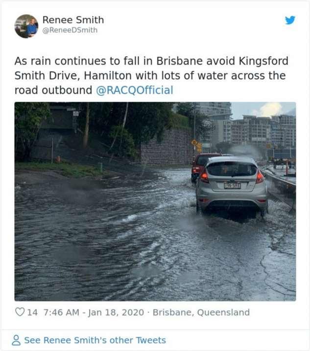Австралия опустошена из-за лесных пожаров и проливных дождей Интересное