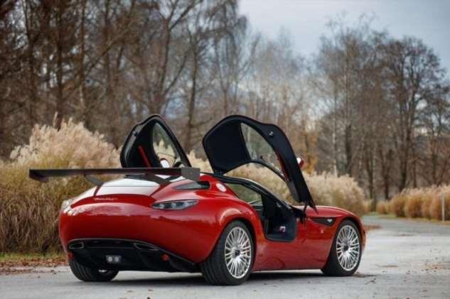 Один из пяти экземпляров купе Zagato Mostro продадут на аукционе  Интересное