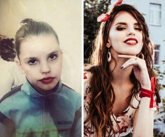 Девушки показали, как изменилась их внешность за каких-то несколько лет