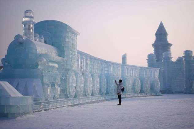 36-ой Харбинский фестиваль ледяных скульптур