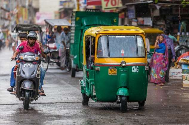 Короткая остановка в Индии. Прогулка по Дели