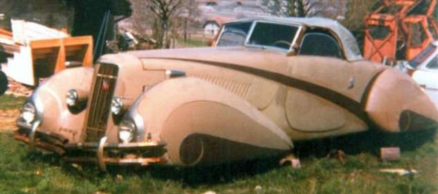 Удивительный  Cadillac 1937 года Интересное