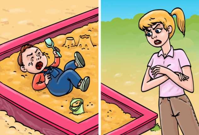 7 проблем на детской площадке, от которых у родителей начинается нервный тик (Но мы знаем, как все уладить)