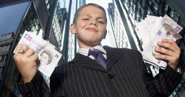 Десятка самых богатых детей мира Интересное