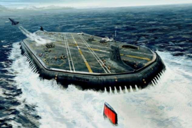 Россия хочет создать подводный авианосец