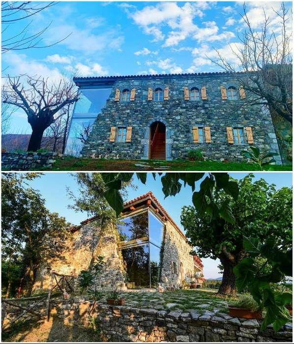 Албанский шеф-повар построил гостиный дом, в дизайне которого переплелись история и современность Интересное