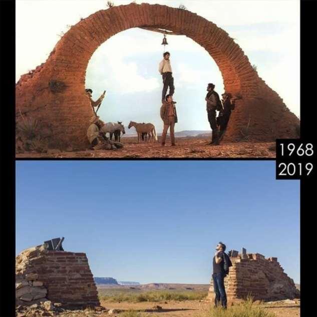 Киноман ищет локации и воссоздает сцены из известных фильмов  Интересное
