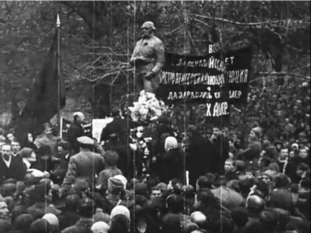 Как большевики воевали с памятниками Интересное