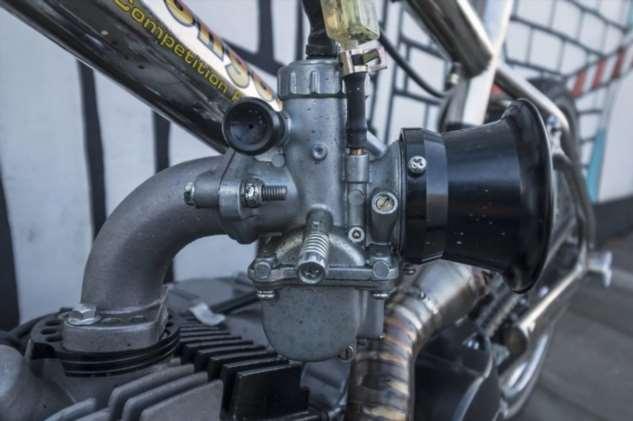 Велосипед с моторчиком: кастом в стиле BMX 80-х годов  Интересное