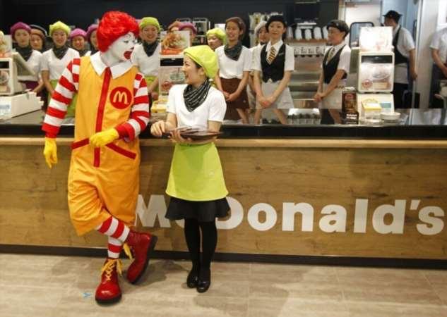 Запрет любви в Макдоналдсе