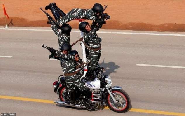 В Индии прошел парад в честь Дня Республики  Интересное
