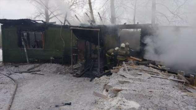 В Томской области сгорело общежитие вместе с 11 рабочими