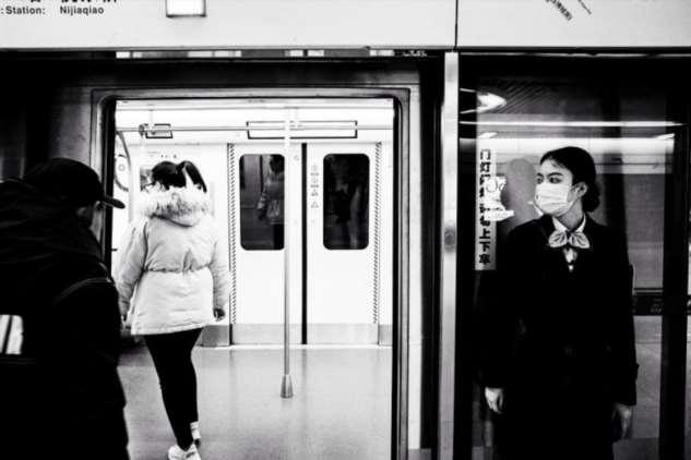 Опустевшее метро в китайском городе Чэнду Интересное