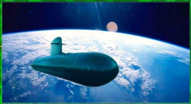 Что будет, если военная подлодка мгновенно телепортируется с глубины 50 метров на околоземную орбиту Интересное