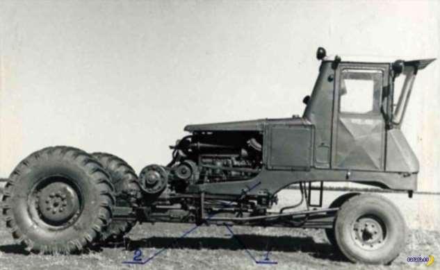 Самоходное шасси СШ-75 «Таганрожец» Интересное