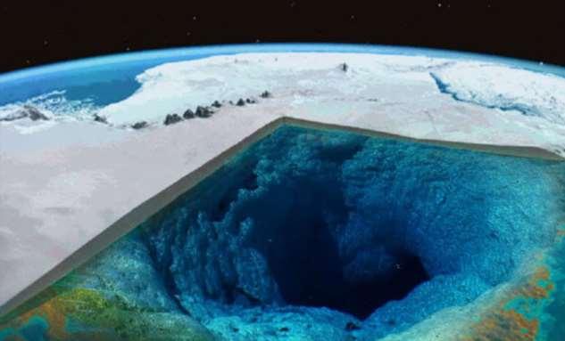 Мир под толщей льда Антарктиды: ученые заглянули под ледяной щит  Интересное
