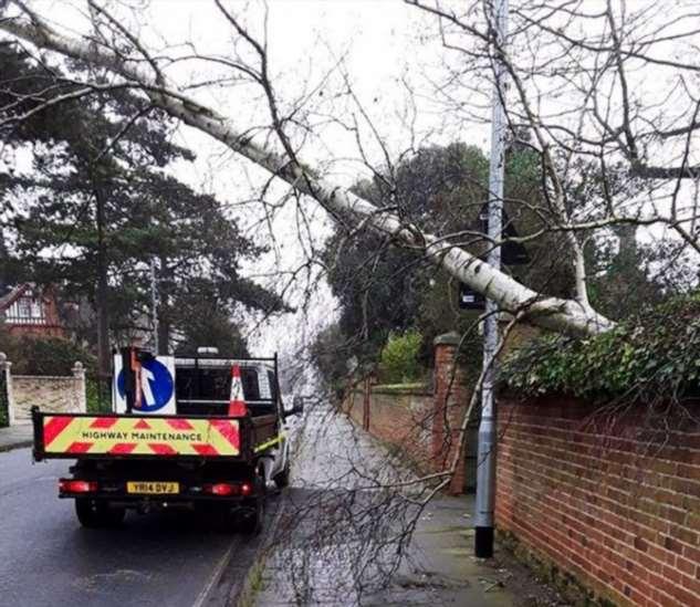 Ураган Ciara в Великобритании Интересное