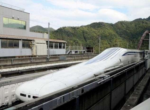 Левитирующий поезд в Японии будет мчать на скорости 500 км/час между городами Токио, будет, поезд, скорость, землёй, всего, Нагои, подождать, Проект, придётся, обойдётся, получится, будут, пассажирам, строить, должны, построить, 2027му, Любоваться, сожалению