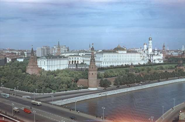 Красивые фотографии Москвы 50-х годов
