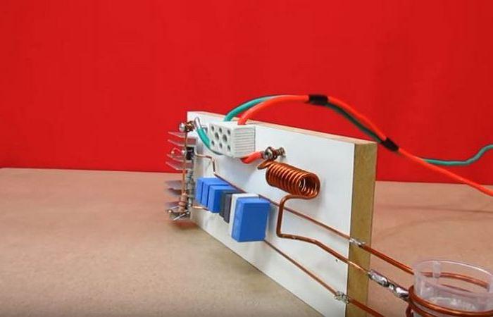 Как собрать своими руками простенький индукционный нагреватель