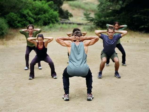 Необычные спортивные тренировки Интересное