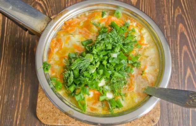 Простой способ сохранить цвет зелени в супе