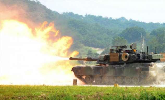 Самая большая танковая армада в мире Интересное