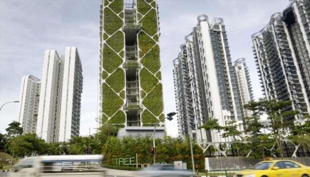 Гигантский вертикальный сад Сингапура – идеальный «живой» кондиционер и архитектурный шедевр