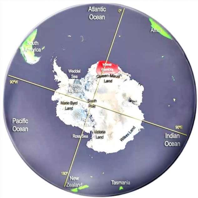 Тайное убежище Адольфа в Антарктиде. Почему именно туда  Интересное