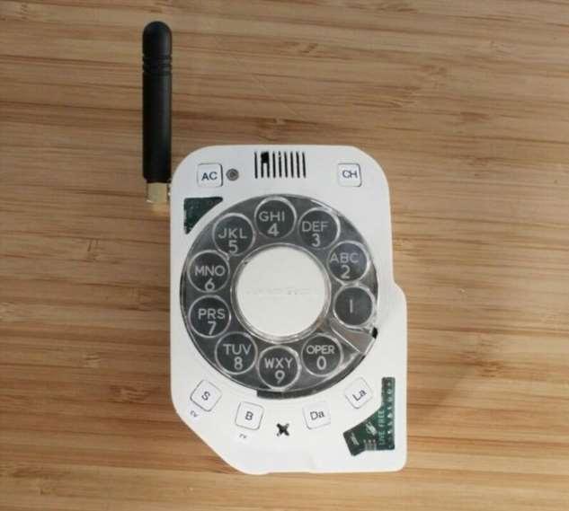 Ностальгический мобильный телефон: дисковый смартфон  Интересное