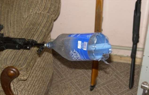 Миф или правда: можно ли сделать глушитель для оружия из пластиковой бутылки Интересное