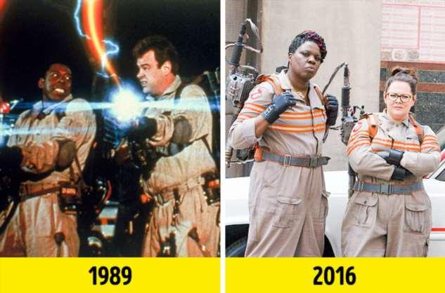 12 ремейков популярных фильмов, в которых мы сравнили героев между собой Интересное