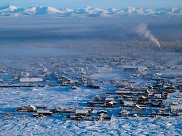 Где расположено самое холодное место на планете  Интересное