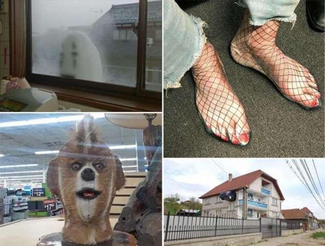 Безумные фотографии, которым лучше не искать логического объяснения  Интересное