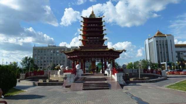Пагода Семи Дней. Элиста