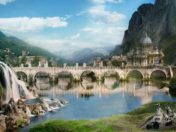Как я представляю себе возможную высокоразвитую духовную цивилизацию прошлого?  Интересное