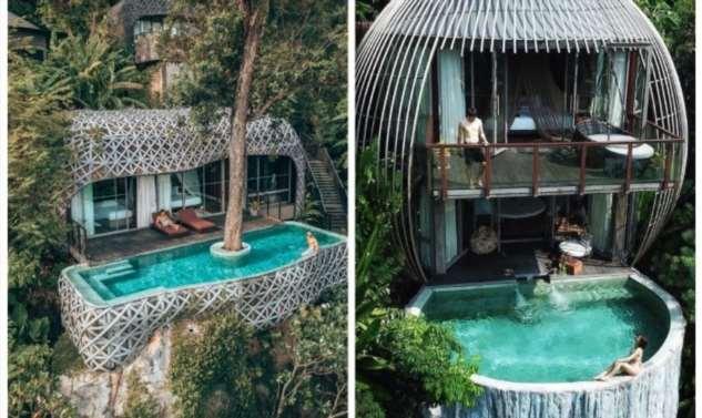 Тропические отели – излюбленное место для неисправимых романтиков Интересное