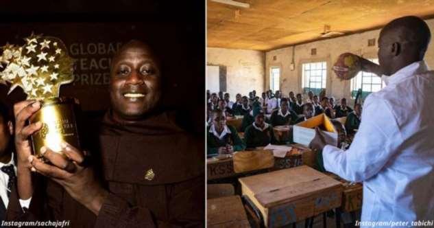 Учитель из деревни в Африке признан лучшим в мире — и получит $1 млн